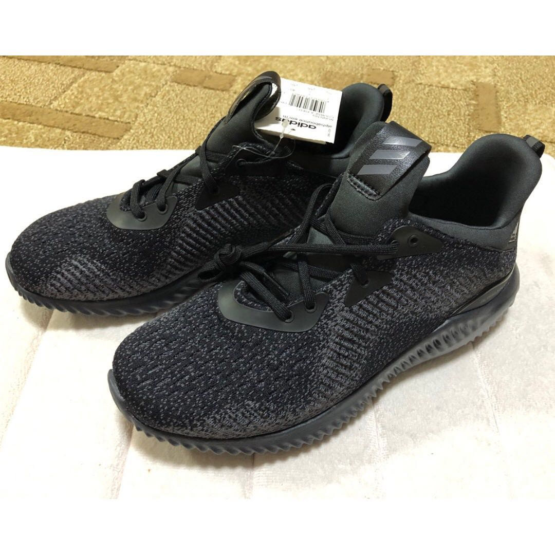48c1215db9000 Brand new Adidas Alphabounce EM Stretch-Knit Sneakers (Black