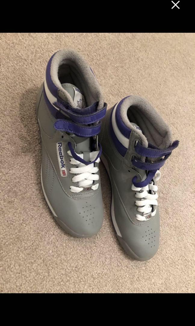 Brand new grey Reebok running shoes women's size 6