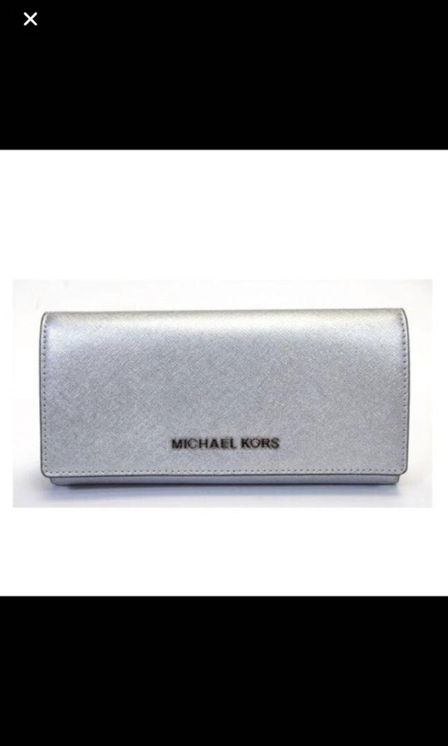90c183c4d8eb Brand new with tag MK silver wallet