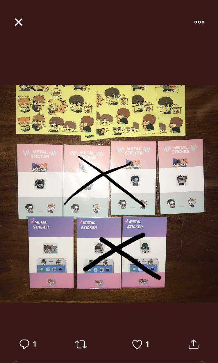 bts jikook emw stickers by moovin