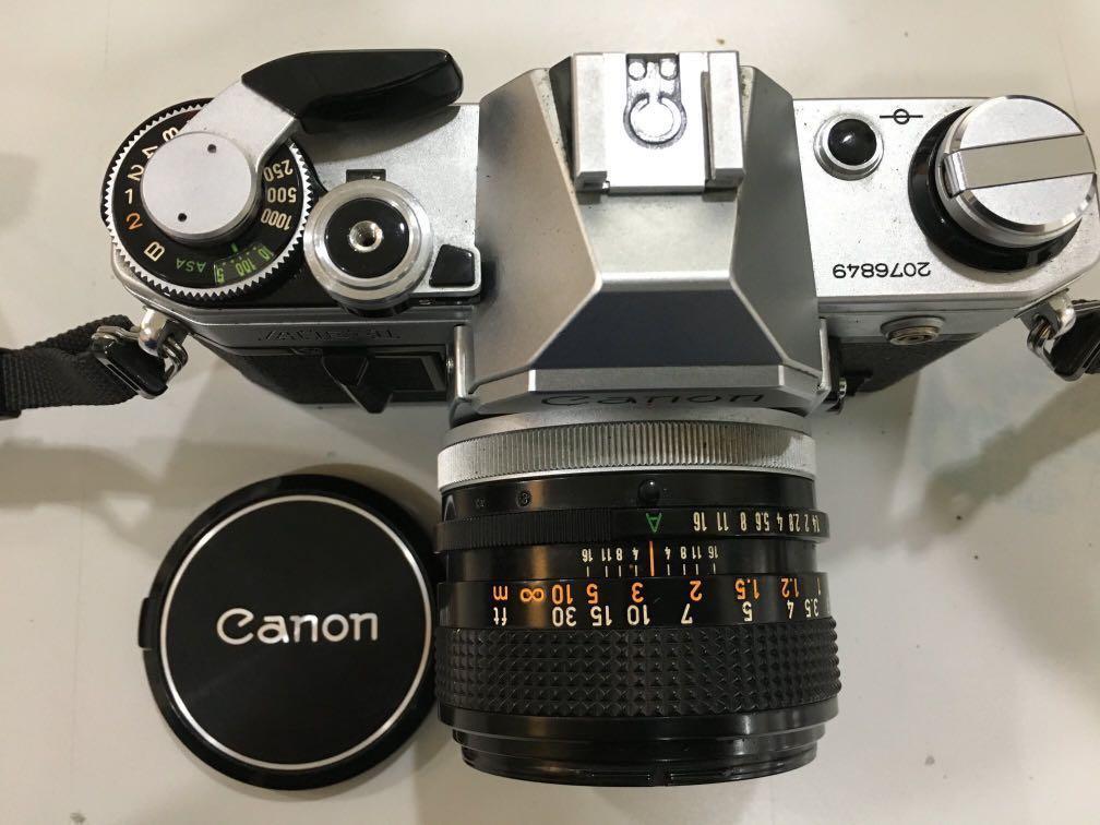 Canon AE-1底片單眼+Canon FD 50mm F1.4 S.S.C 鏡頭