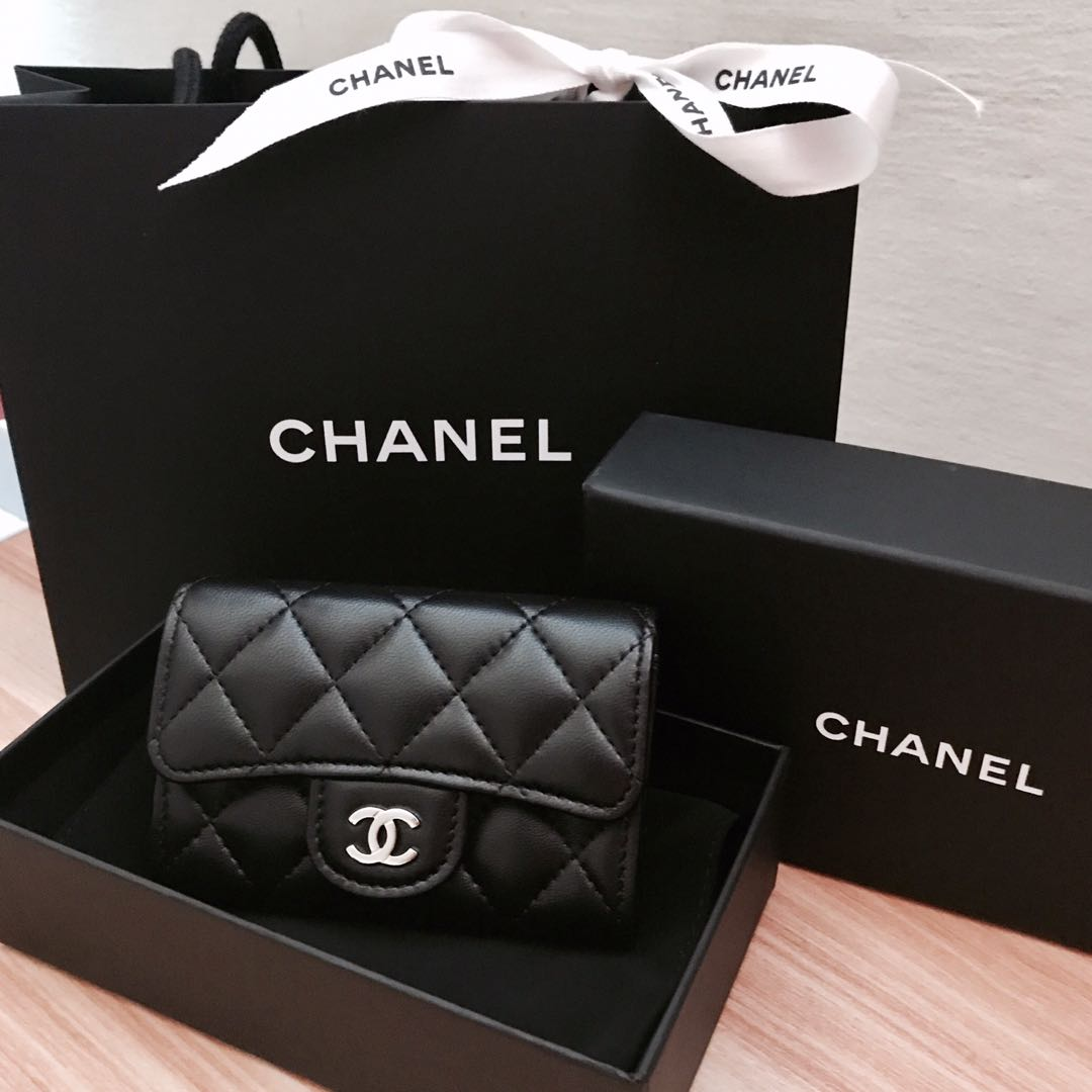 a66fd153c3c5 Chanel Classic Card Holder, Luxury, Bags & Wallets, Others on Carousell