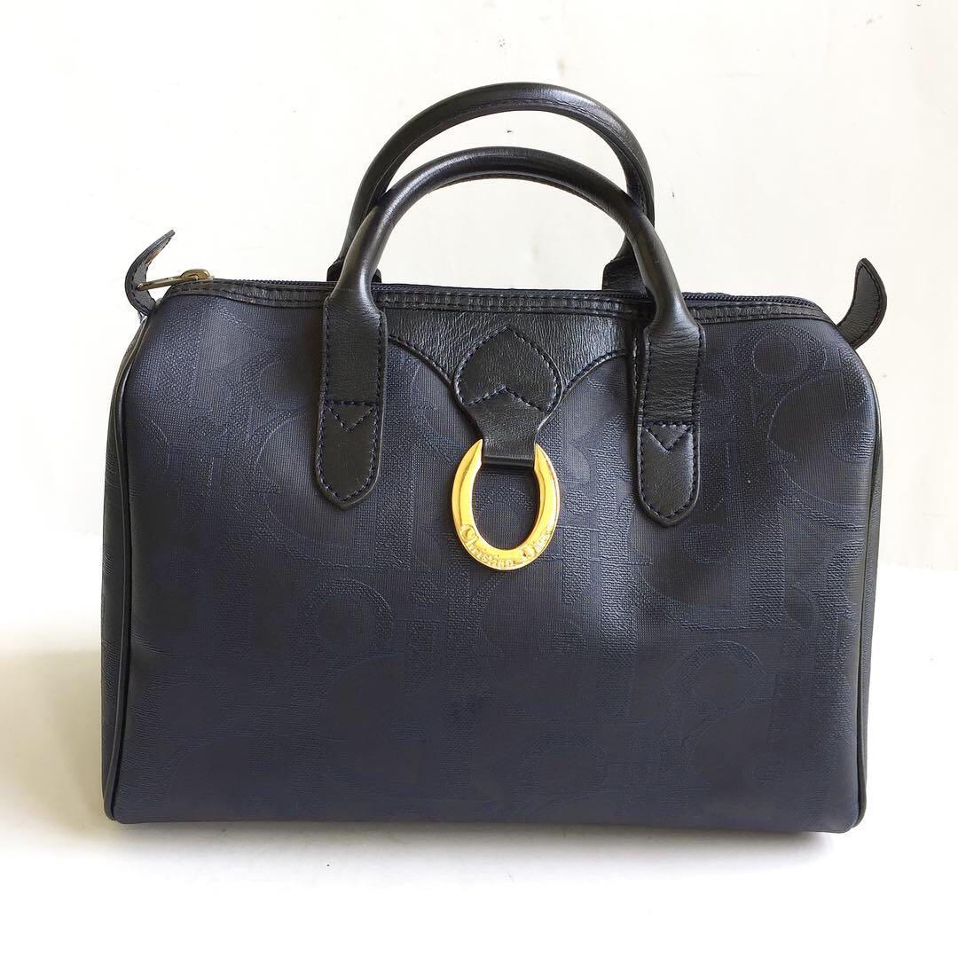 8e94ca85f11b christian dior trotter vintage boston 30 bag