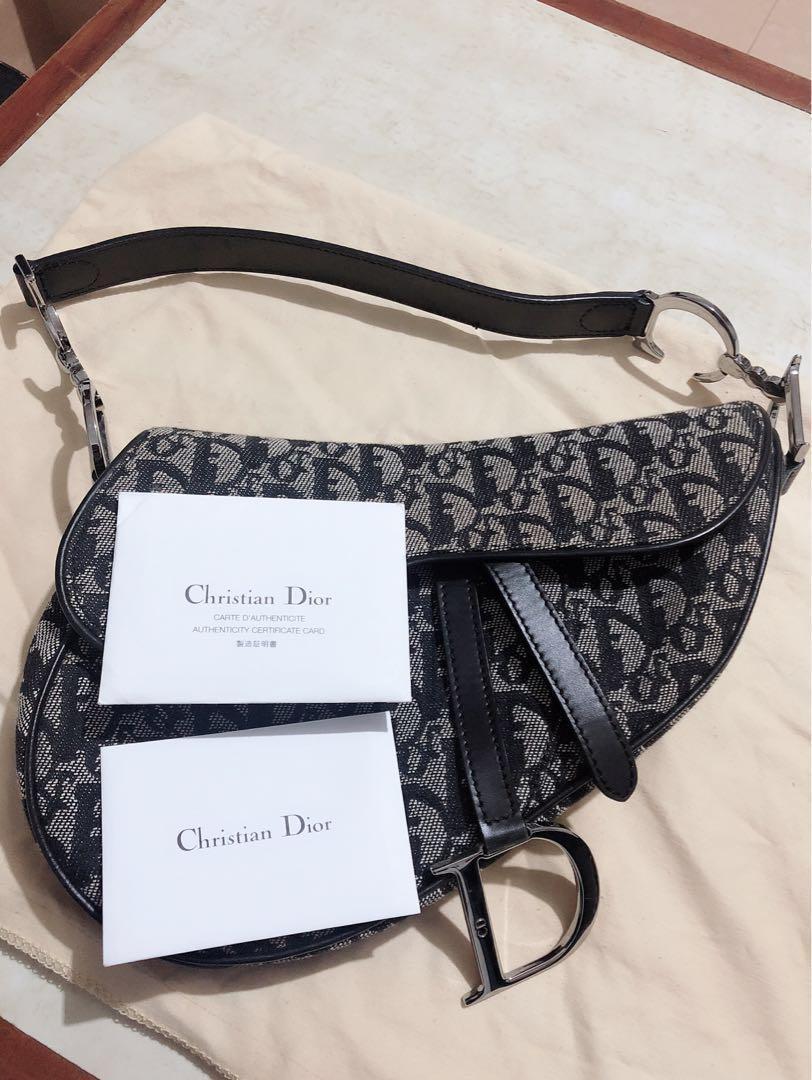 Christine Dior CD馬鞍包