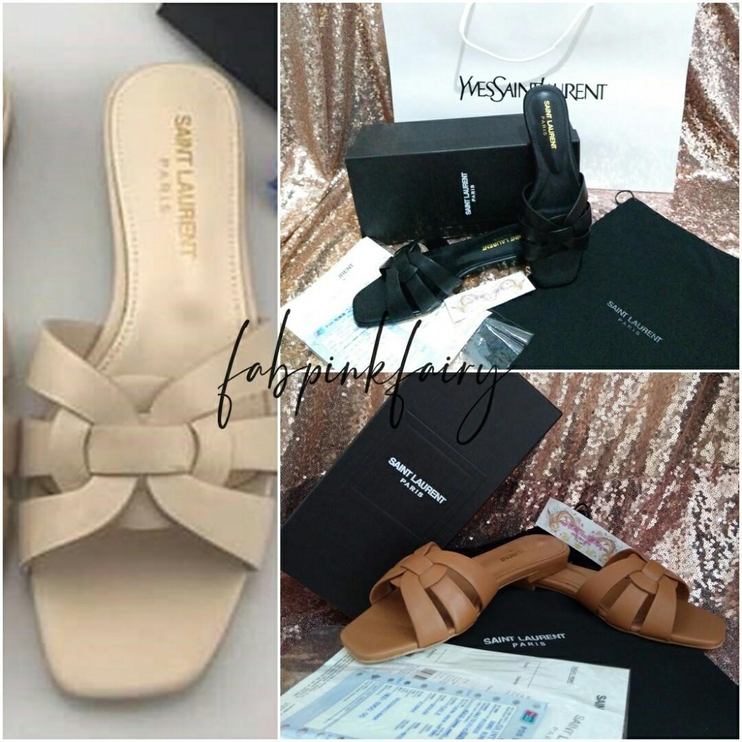 5d7a174e82f CLEARANCE SALE 35-40 YSL Sandals YSL Slippers YSL Tribute Sandals YSL Flats  Yves Saint
