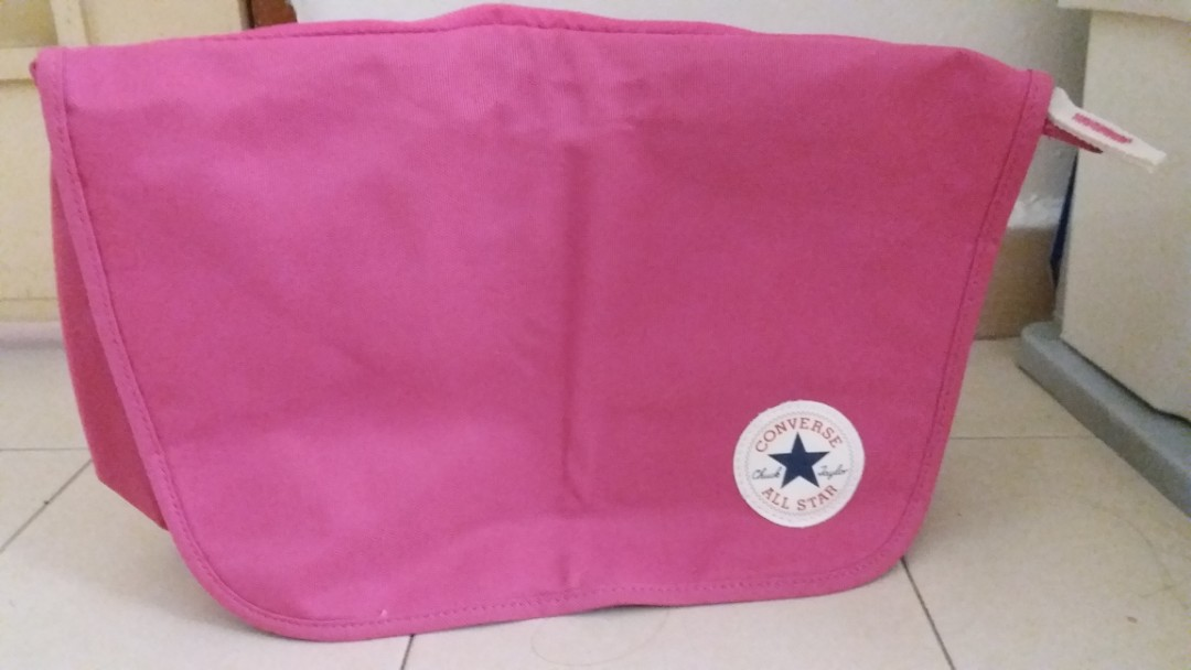 1ef05ec92740 Converse All Star sling bag (pink)