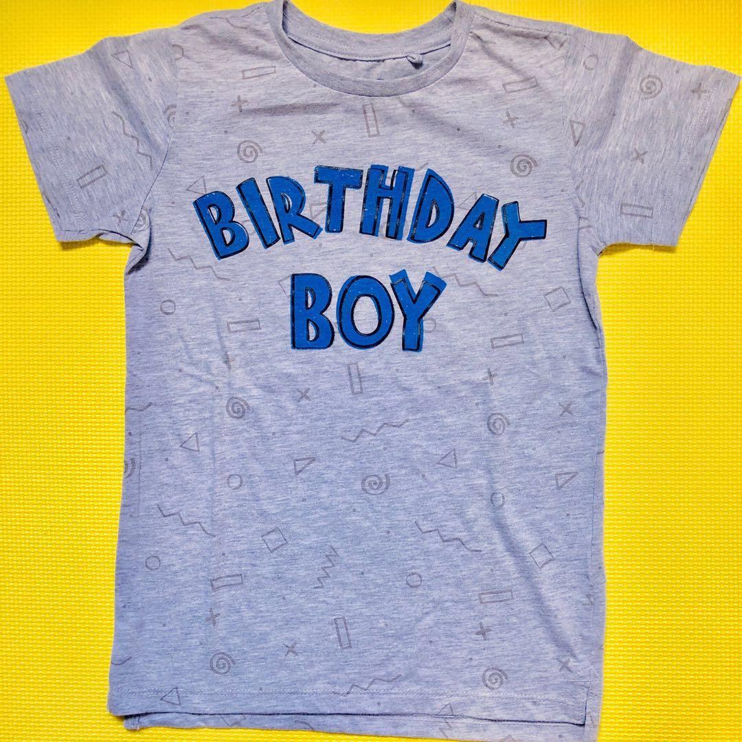 COTTON ON Kids Birthday Boy T Shirt For Babies Boys
