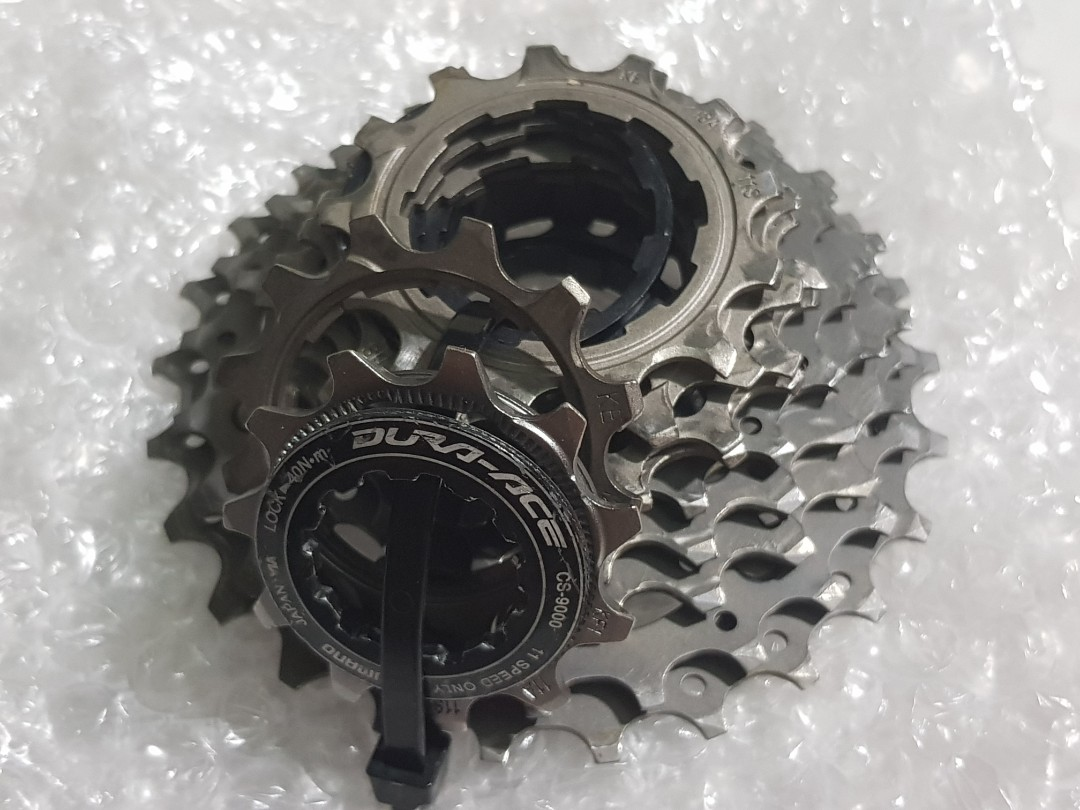 153f7c4ae80 Dura Ace 11 speed Cassettes 11-25T, Bicycles & PMDs, Bicycles, Road ...