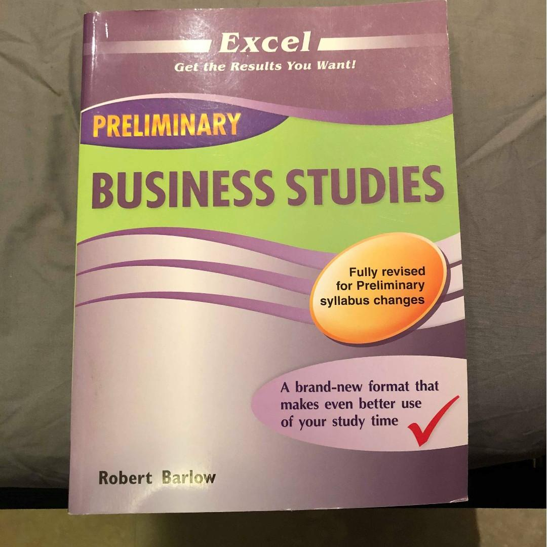 Excel Preliminary Business Studies
