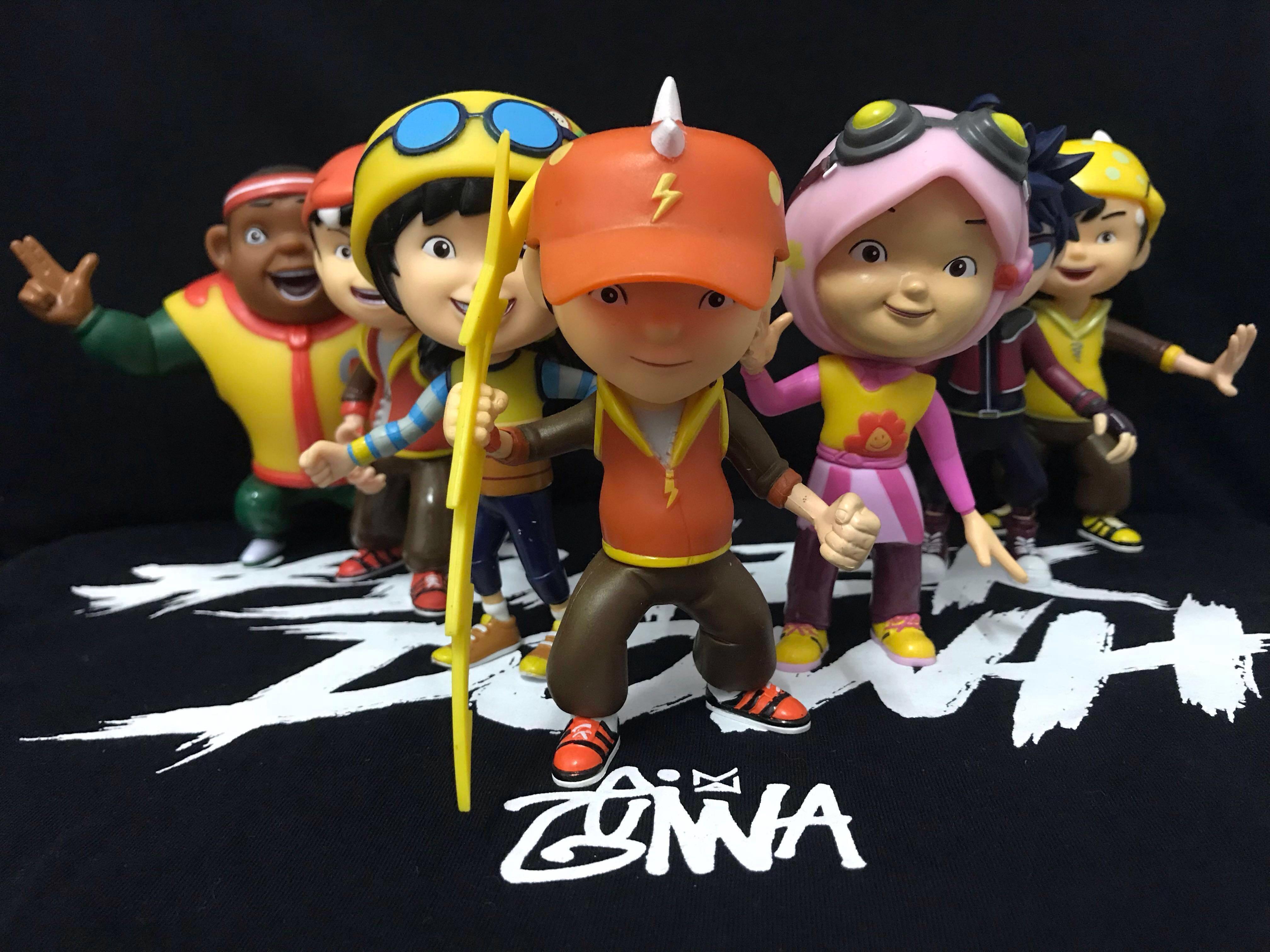 Boboiboy Figure 4 Set Harga Baru Produk Terhangat Di Indonesia