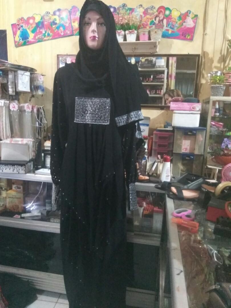 #SuperDeal Gamis Arab + Pashmina