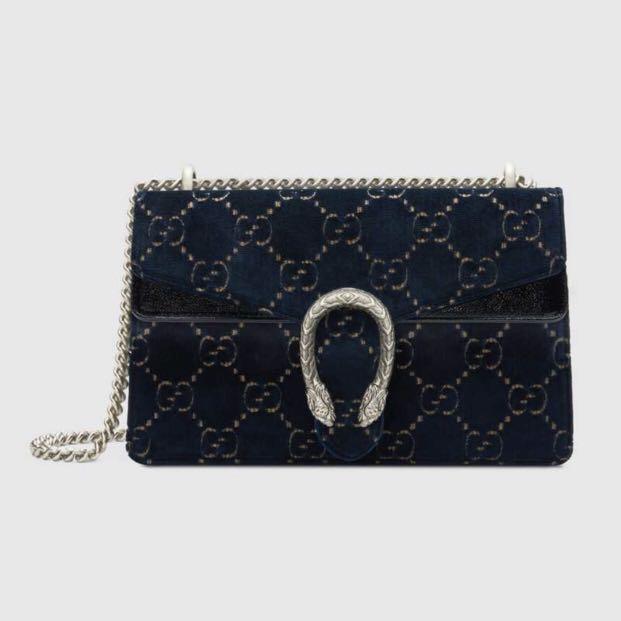 3d2d2958cac Gucci Dionysus GG velvet Small Shoulder Bag