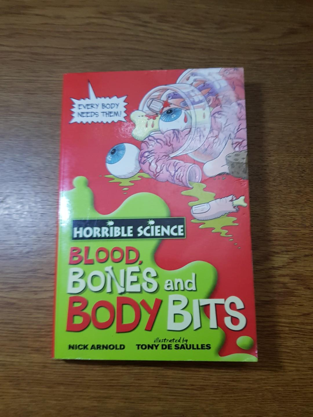 Horrible Science Blood Bones And Body Bits By Nick Arnold