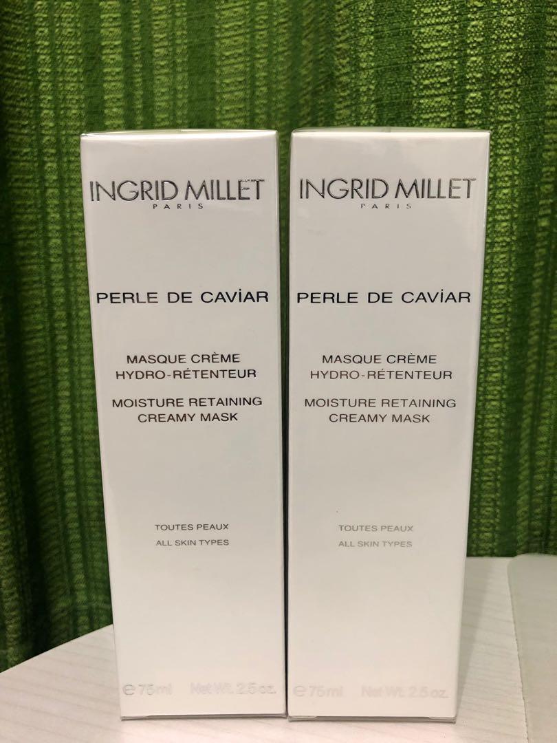 超滋潤!Moisture Retaining Creamy Mask @Ingrid Millet Paris