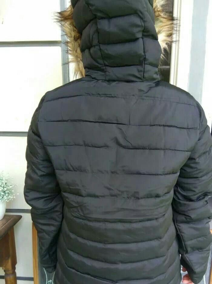 Jacket pria duck down pull bulu angsa sisa exsport