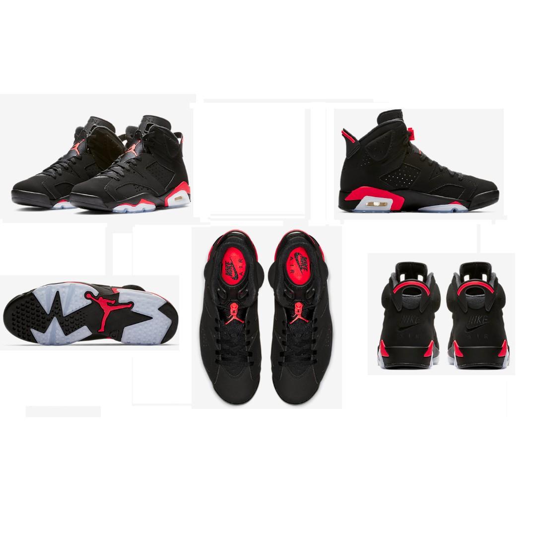 c31891ab923f3c Jordan 6 Retro Black Infrared (2019)