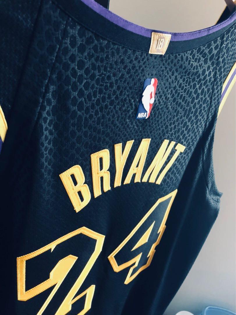 Kobe Bryant 2018 Nike Lore Series AUTHENTIC Jersey Men's L