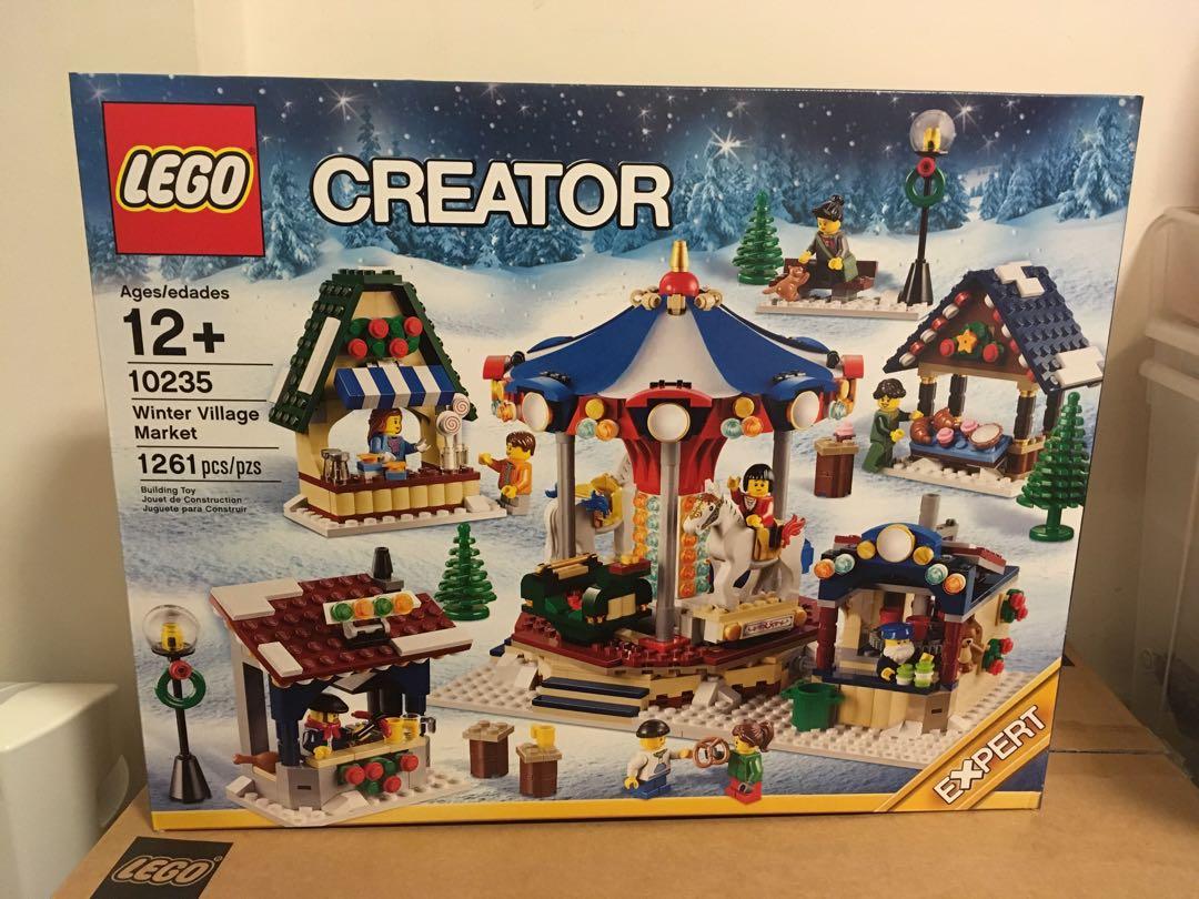 Lego 10235 winter village market