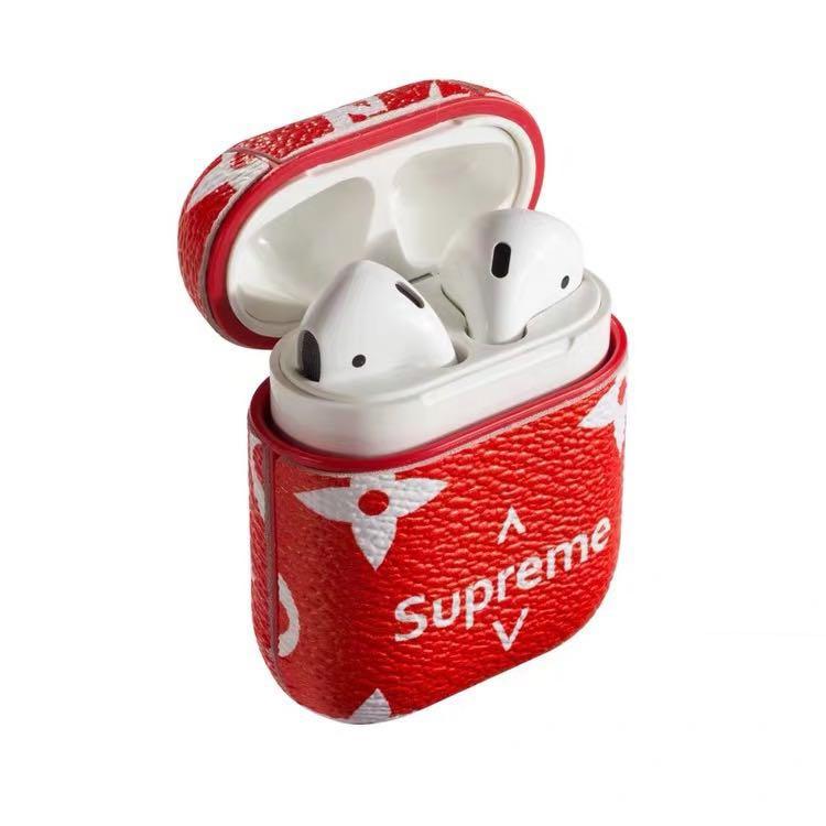 best service 0781a d95f7 Louis Vuitton x Supreme Apple EarPods Case