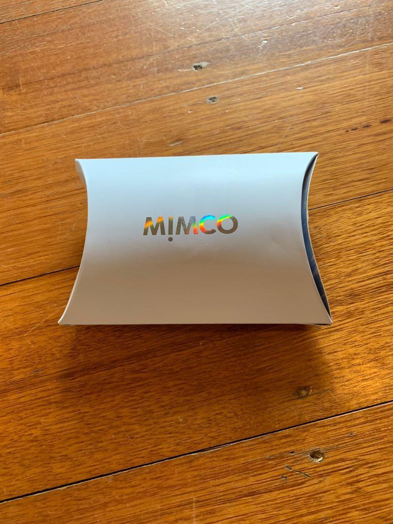 Mimco button earrings