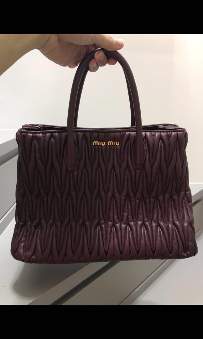 2523fab4bd2c Miu Miu Matelassé handbag