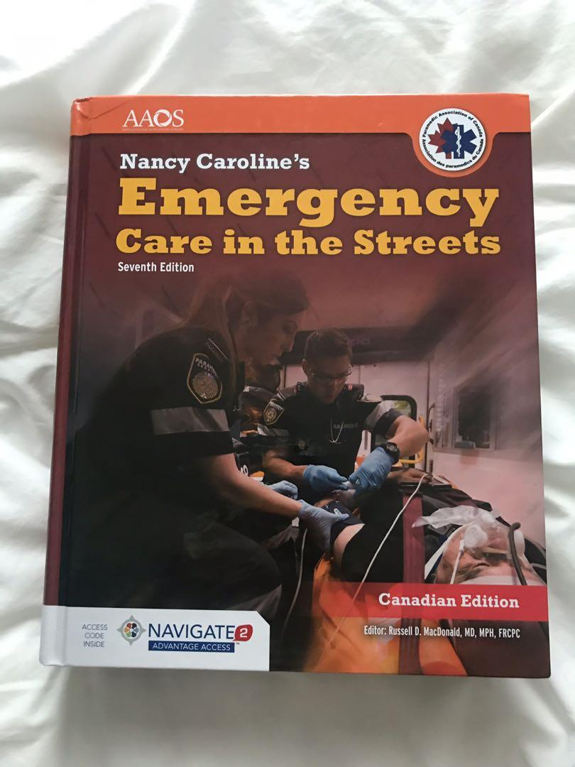 Nancy Caroline's Emergency Care in the Streets Paramedic textbook