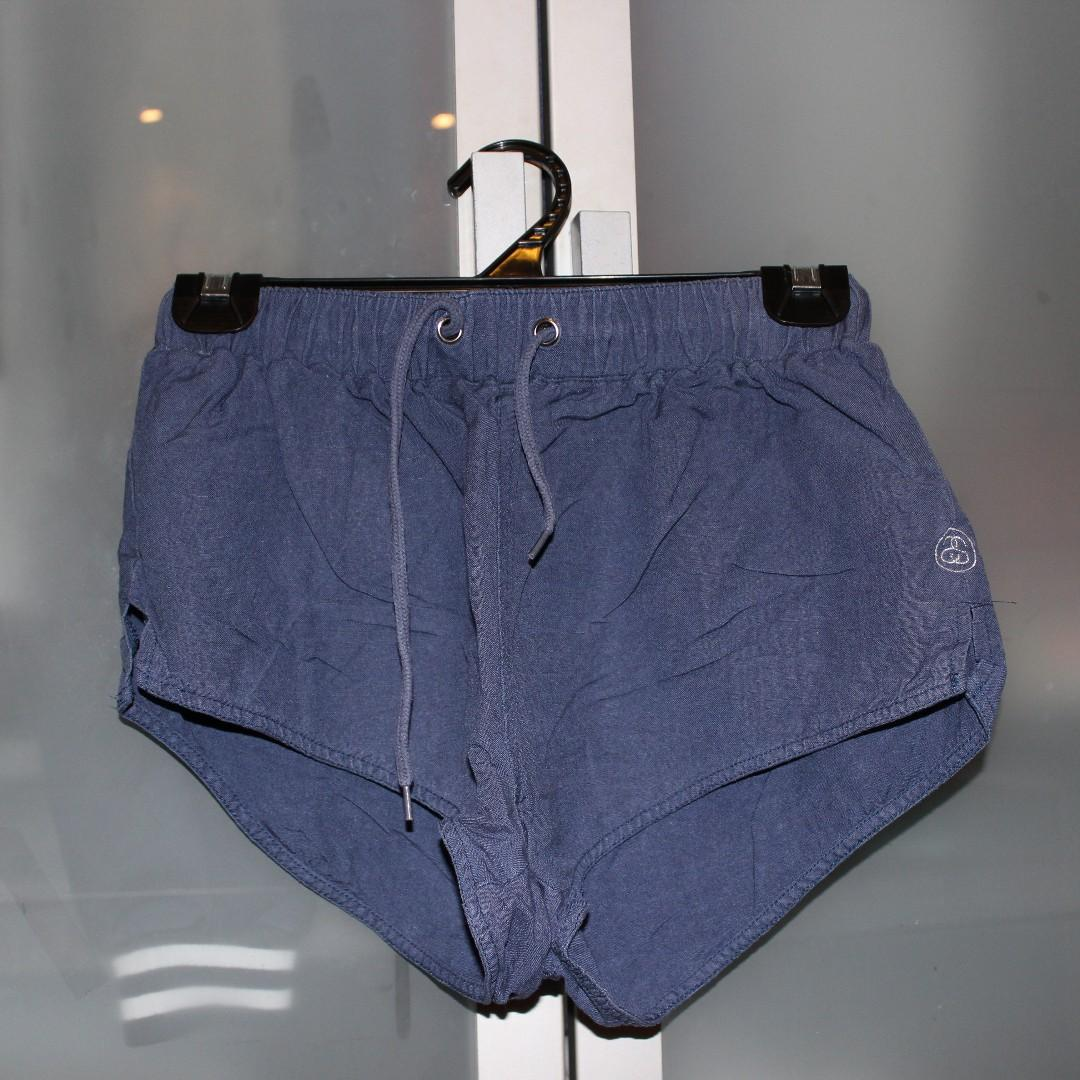 Navy Stussy Shorts