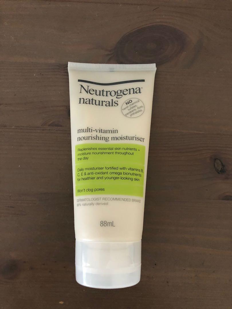 Neutrogena Naturals Moisturiser