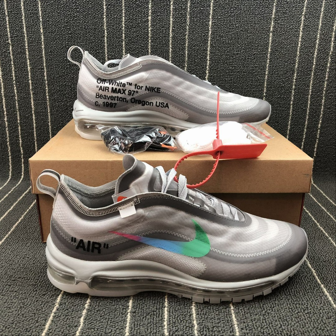85be1665d8 Nike Air Max 97 x Off White, Men's Fashion, Footwear, Sneakers on ...