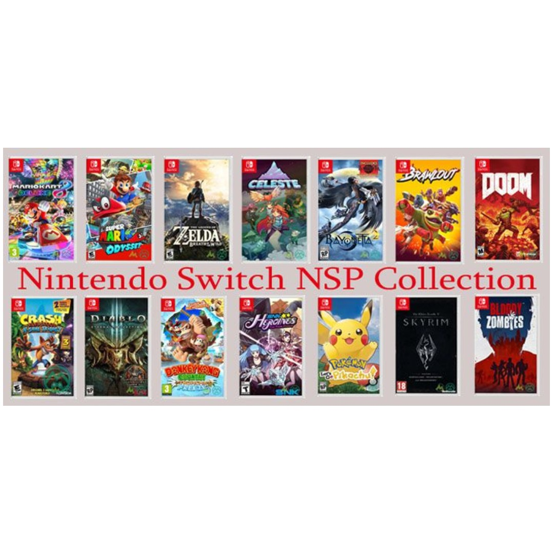 Nintendo Switch NSP / XCI Games Injection / Installation