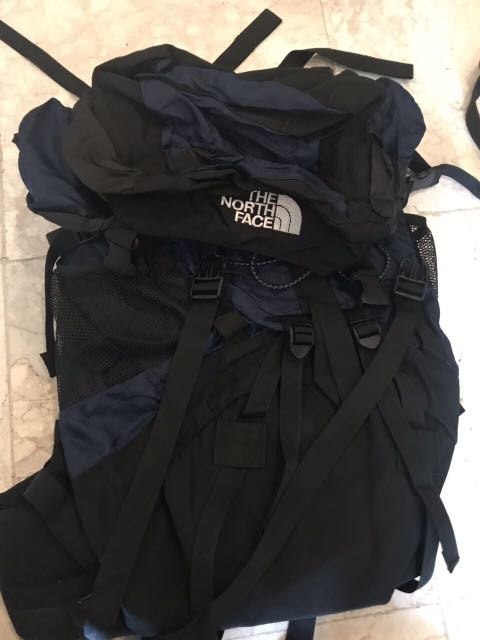 dad71f620276 North Face backpack (blue&black)