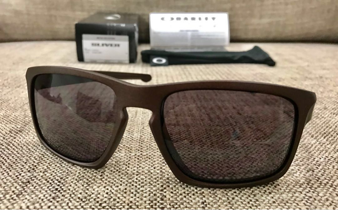 43f3a37d71 Oakley™ SLIVER-Asian Fit (Corten Warm Grey)