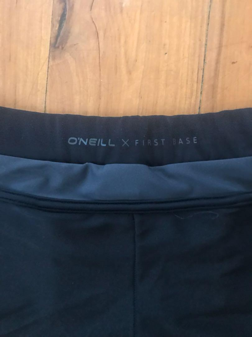 O'NEILL women's mesh cutout short sports tights size 8