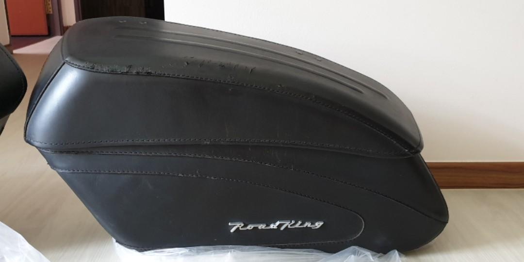 Original Harley Davidson Roadking Saddlebags