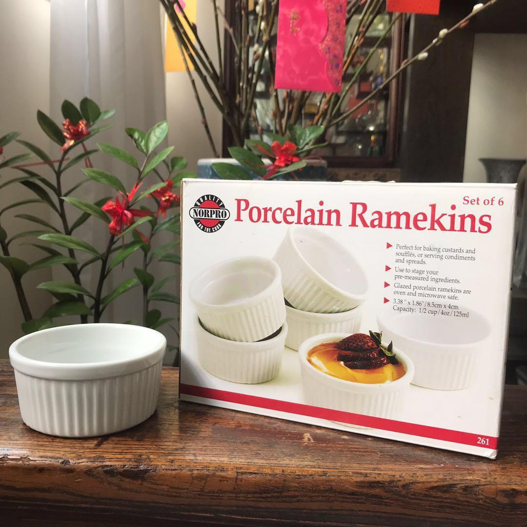Porcelain Ramekins Set of 6