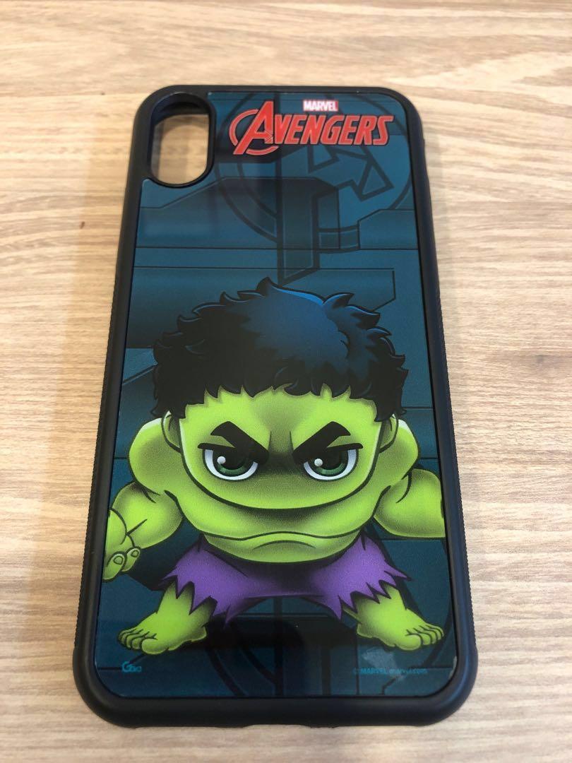 wholesale dealer bff30 d30b4 Preloved Original Marvel Avengers Hulk iPhone X case