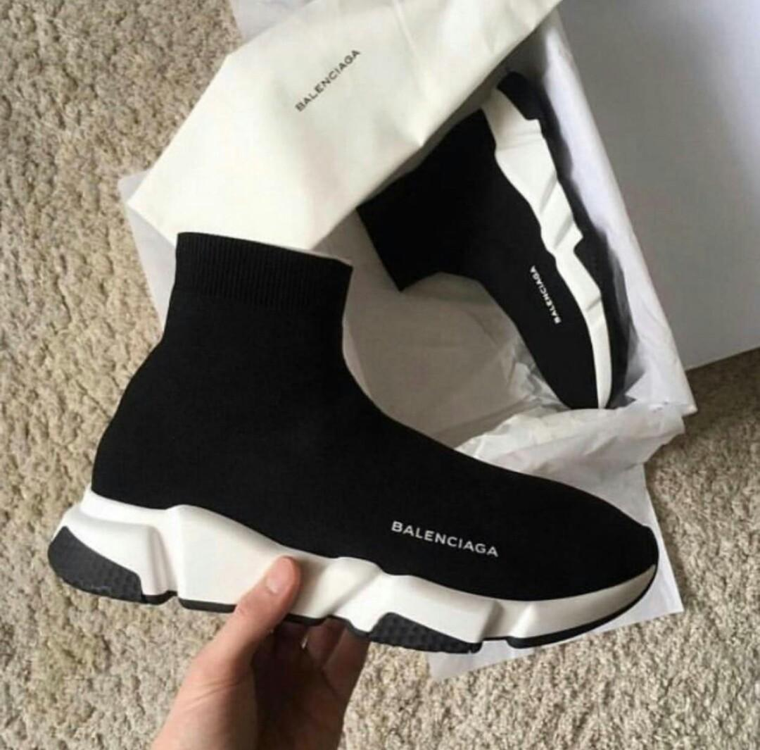 better shop picked up PROMO) BALENCIAGA SPEED TRAINER, Men's Fashion, Men's ...