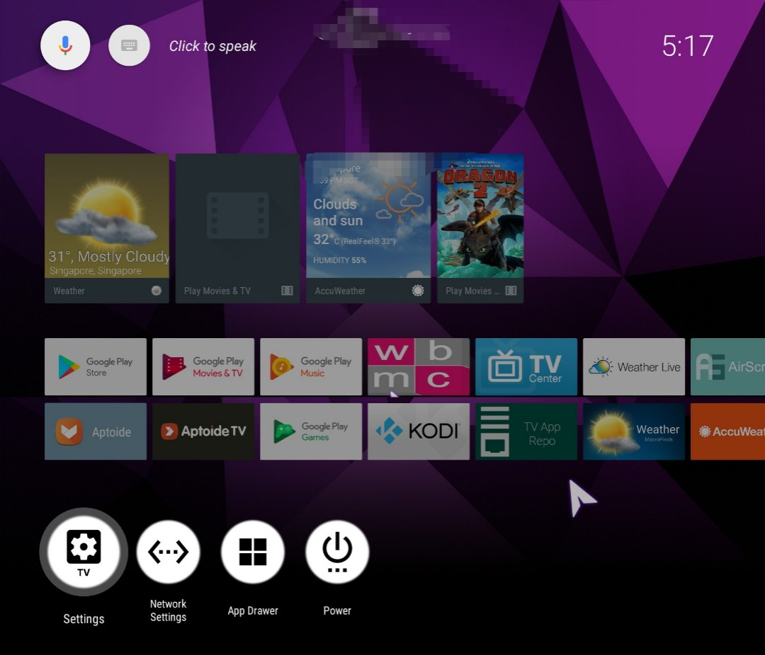 S912_8Cores AndroidTVBOX - Run Android TV OS ,Very fast and