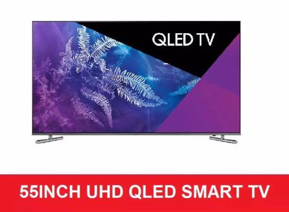 Samsung 55inch QLED smart TV