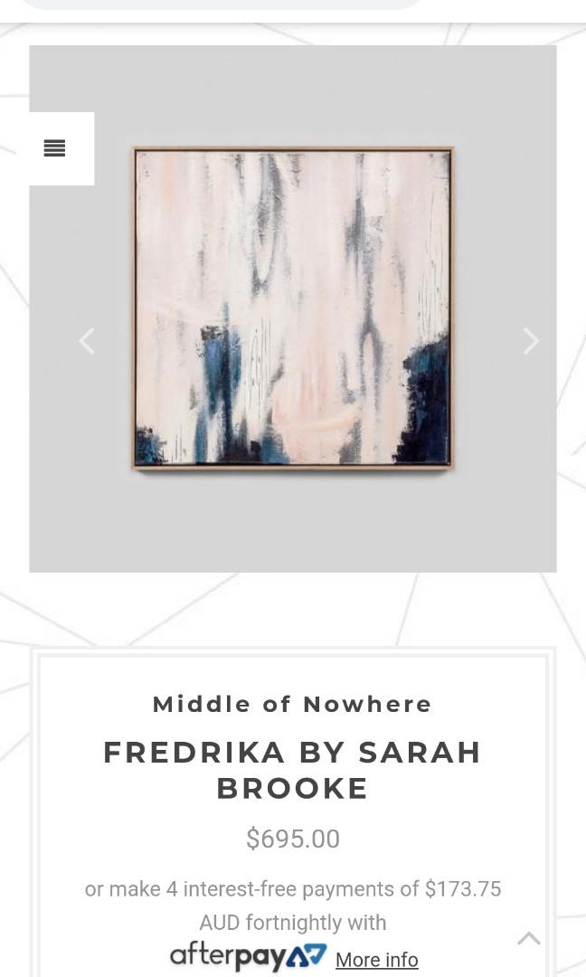 Sarah Brooke Art Middle of Knowhere