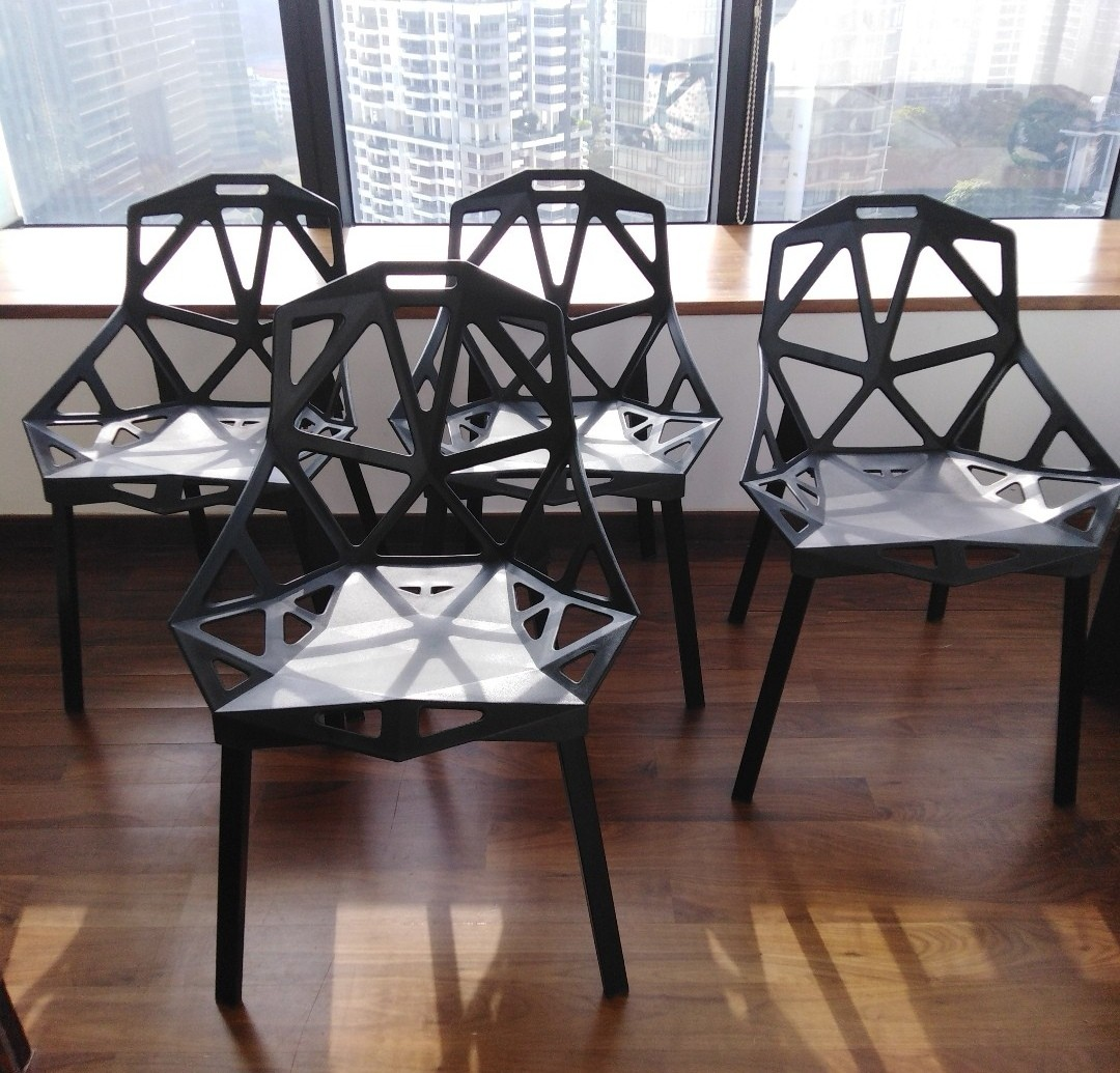 Fast Deal 45 Each Stackable Dining Chair