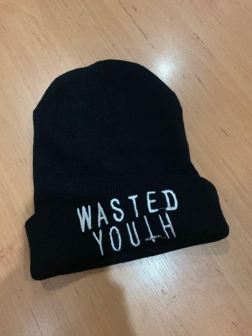 ed17fc87babd8 Wasted Youth Beanie