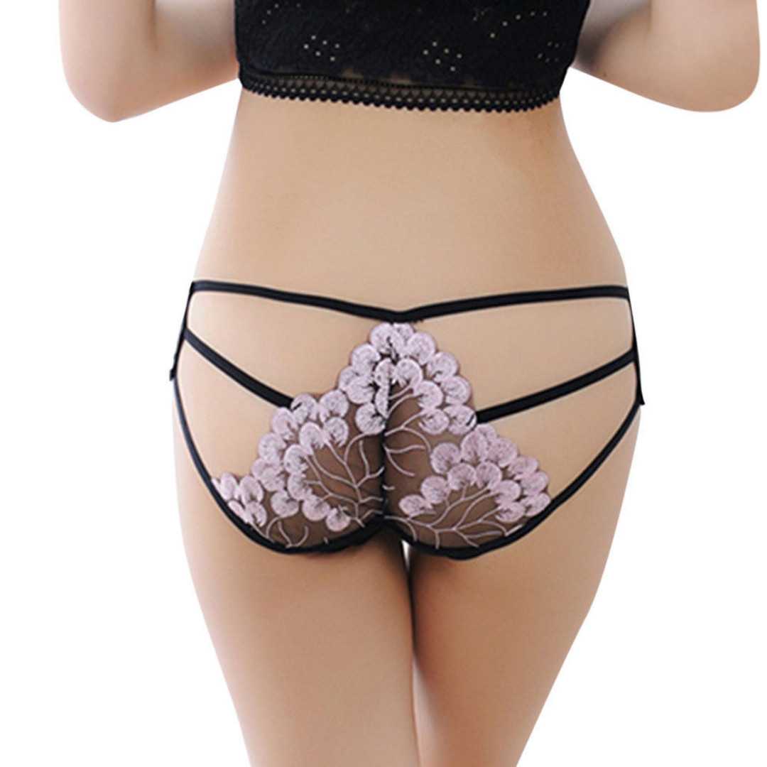 fd3baa88aca Women Lady Sexy Lady Floral Lace G-String V-String C-String Lace ...