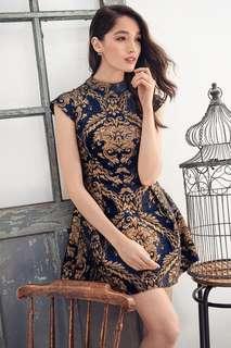 TCL Majestic Cambridge jacquard dress