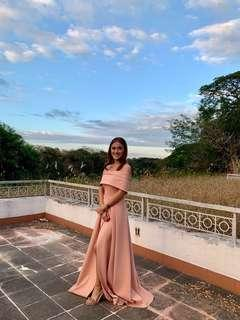 Apartment8 Mahogany Gown (Dusty Rose)
