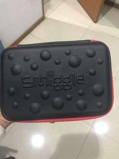 Smiggle black pencil case