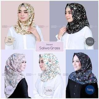 🚚 PO Hijab salwa grass