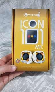 Vinnfier Icon 101 2.0 USB Powered Notebook Speaker