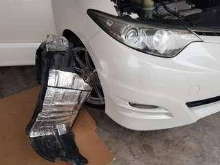 Toyota Estima Tyre Soundproofimg