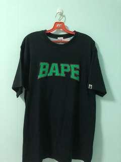 💯Authentic Bape Embroidered Logo Tee